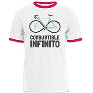 Camiseta contraste combustible infinito